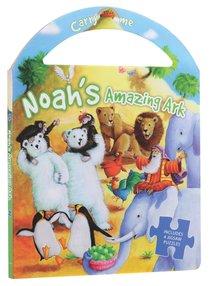 Noahs Amazing Ark (Carry Me Puzzle Book Series)