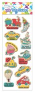 Puffy Stickers: Vehicles (1 Sheet Per Pack)