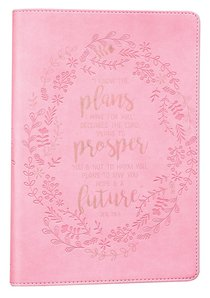 Classic Journal: I Know the Plans I Have For You.... Pink Luxleather