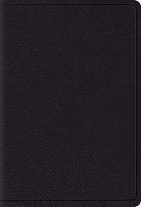 ESV Large Print Compact Bible Black Red Letter Edition