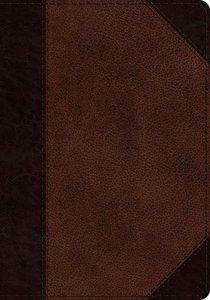ESV Journaling Psalter Brown/Walnut Portfolio Design (Black Letter Edition)