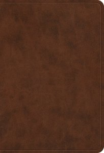 ESV Value Large Print Compact Bible Brown (Black Letter Edition)