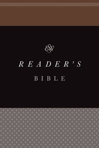 ESV Readers Bible (Black Letter Edition)