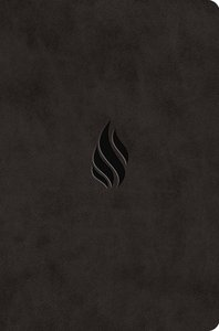 ESV Value Compact Bible Midnight Flame Design