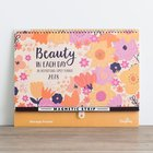 2018 16-Month Family Planner: Beauty in Each Day