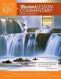 KJV Standard Lesson Commentary 2017-2018 Deluxe Edition