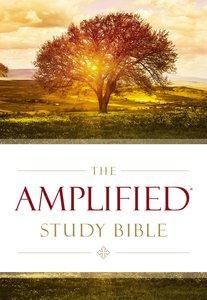 Amplified Study Bible Purple (Black Letter Edition)