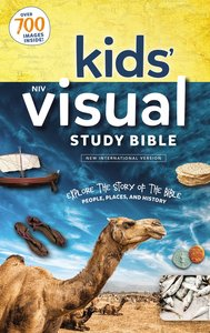 NIV Kids Visual Study Bible, Full Color Interior