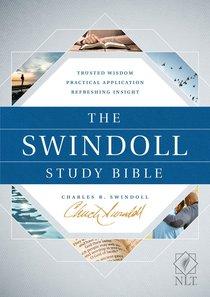 The Swindoll Study Bible NLT (Black Letter Edition)