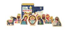 Teeny-Tiny Nativity Mini Book & Wooden Figures