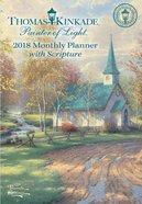 2018 Thomas Kinkade Painter Of Light Monthly Pocket Planner
