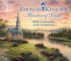 2018 Thomas Kinkade Painter Of Light Day to Day Desk Top Calendar