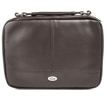 Bible Cover Xlarge Two-Fold Luxleather Organizer Brown