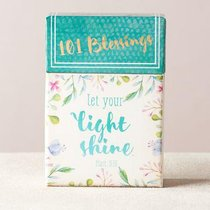 Box of Blessings:101 Blessings Let Your Light Shine, Floral