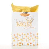 Gift Bag Medium: To My Mom With Love (Mum)
