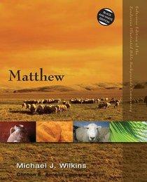 Matthew (Zondervan Illustrated Bible Backgrounds Commentary Series)