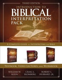 Introduction to Biblical Interpretation: A Complete Guide to Interpreting the Bible (Pack)
