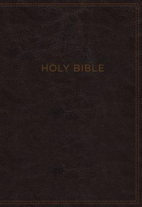 KJV Know the Word Study Bible Burgundy (Red Letter Edition)