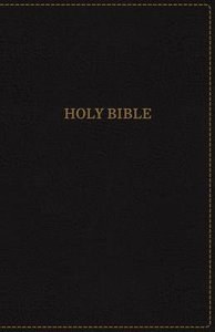 KJV Thinline Bible Black Red Letter Edition