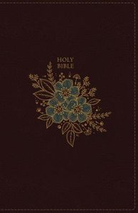 KJV Deluxe Reference Bible Personal Size Giant Print Burgundy Indexed (Red Letter Edition)