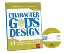 Character By Gods Design: Volume 2: Book With DVD