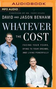 Whatever the Cost (Unabridged, Mp3)