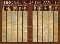 Wall Chart: Heroes of the Old Testament (Laminated)