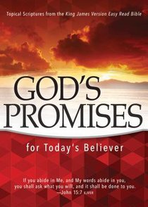 Gods Promises For Todays Believer: Topical Scriptures From the King James Version Easy Read Bible