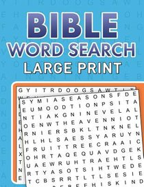 Bible Word Searches (Large Print)