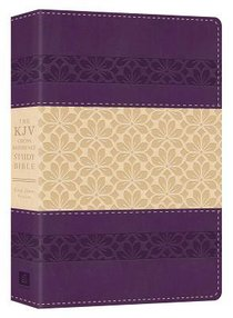 KJV Cross Reference Study Bible Indexed Puprle