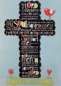 Poster Large: Psalm 23