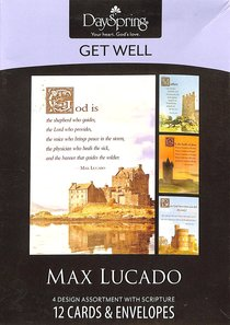 Boxed Cards Get Well: Max Lucado - Castles