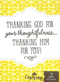 Trend Notes: Thanking Him For You (Phil 1:3 Niv)