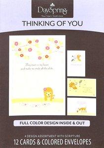 Boxed Cards Thinking of You: Woodland Wonders