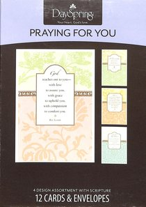 Boxed Cards Praying For You: Watercolor Prayers - Roy Lessin