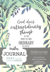 Journal: God Does Extraodinary Things, Mixed Scriptures ((In)courage Gift Product Series)