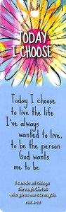 Tassel Bookmark: Today I Choose