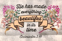 Poster Small: Everything Beautiful