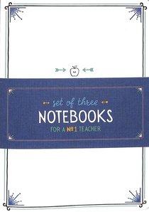 Notebook Set of 3: Teacher Collection (3x Notebooks)