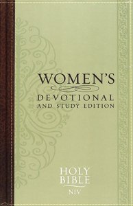 NIV Womens Devotional and Study Edition
