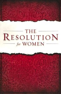 The Resolution For Women (Unabridged, Mp3)