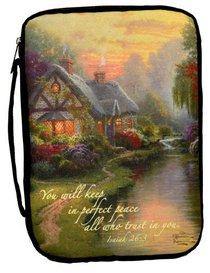 Bible Cover Thomas Kinkade Xlarge a Quiet Evening