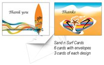National Day of Thanks Card Pack K: Sand and Surf