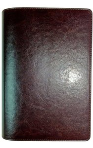 NIV Waterproof Bible Brown Imitation Leather Slip Cover Over Camo (Black Letter Edition)