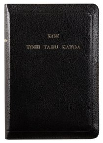 Tongan Holy Bible Black