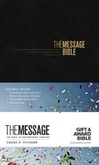 Message Gift and Award Bible Black