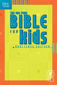 One Year Bible NLT For Kids Challenge Edition