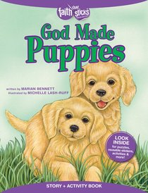 God Made Puppies (Incl. Stickers & Puzzles) (Faith That Sticks Story & Activity Book Series)