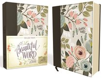 KJV Beautiful Word Bible Multi-Color Floral Cloth Red Letter Edition