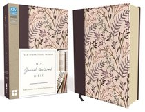 NIV Journal the Word Bible Pink Floral (Black Letter Edition)